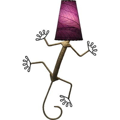 Eangee Home Design Gecko Wall Sconce -Purple (396-Xp)