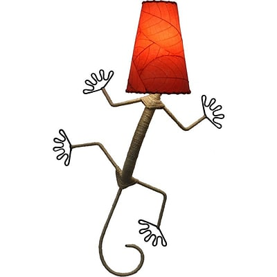Eangee Home Design Gecko Wall Sconce -Red (396-Xr)