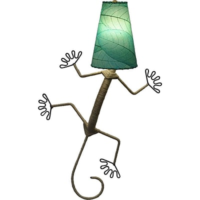Eangee Home Design Gecko Wall Sconce -Blue (396-Xsb)