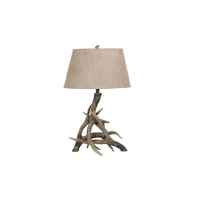 Aurora Lighting 1-Light Incandescent Table Lamp - Weathered Antler (STL-CST023886)