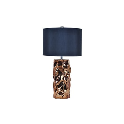 Aurora Lighting 1-Light Incandescent Table Lamp - Gold (STL-CST075137)