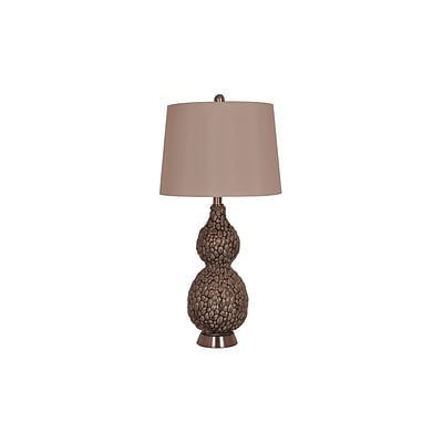 Aurora Lighting 1-Light Incandescent Table Lamp - Grey (STL-CST070552)
