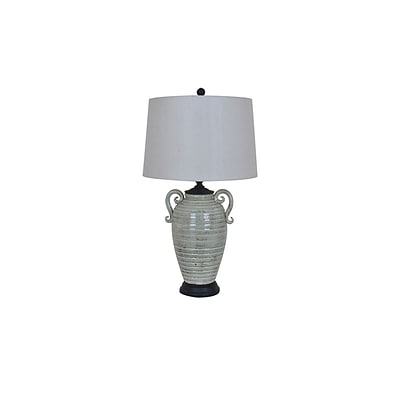Aurora Lighting 1-Light Incandescent Table Lamp - Grey (STL-CST081343)