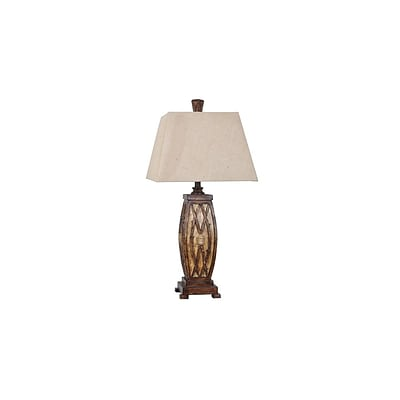 Aurora Lighting 1-Light Incandescent Table Lamp - Willow Branch (STL-CST079142)