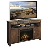 Legends Furniture Old West 60 TV Stand w/ Fireplace