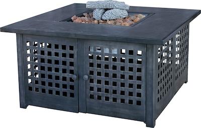 Uniflame UniFlame Metal Propane Fire Pit Table