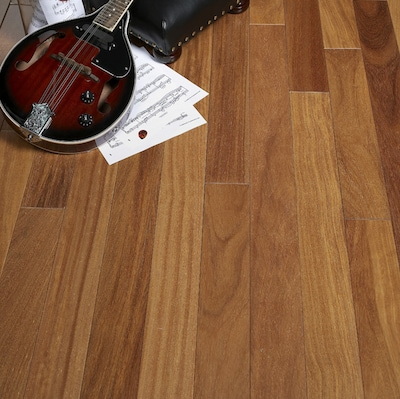 Albero Valley 3 1/4'' Solid Cumaru Hardwood Flooring In Teak