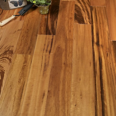 Albero Valley 3 1/4'' Solid Muiracatiara Hardwood Flooring In Natural