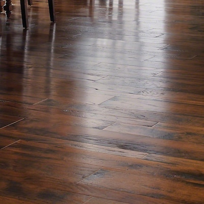 Anderson Floors Gnarly Plank Ii Engineered Oak Hardwood Flooring In Cocoa Beach