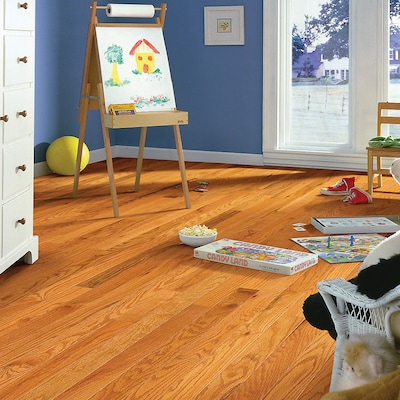 Welles Hardwood 3 1/4'' Solid Oak Hardwood Flooring In Caramel