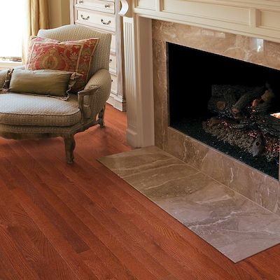 Welles Hardwood 3 1/4'' Solid Oak Hardwood Flooring In Merlot