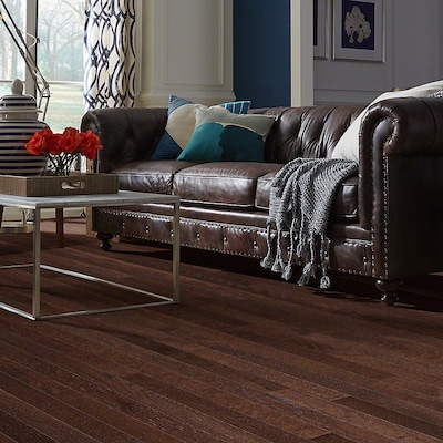 Welles Hardwood 3 1/4'' Solid Oak Hardwood Flooring In Mocha