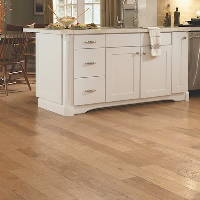 Welles Hardwood 3 1/4'' Engineered Hickory Hardwood Flooring In Golden Wheat