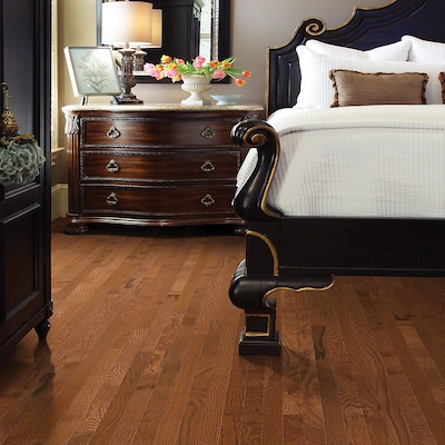 Welles Hardwood 2 1/4'' Solid Oak Hardwood Flooring In Leather