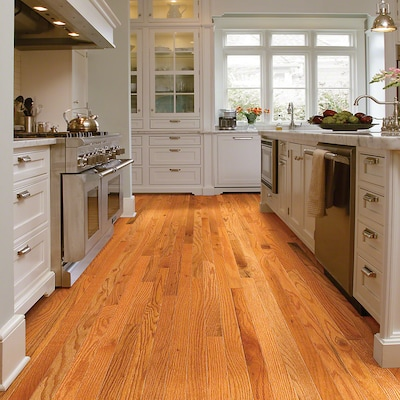 Welles Hardwood 2 1/4'' Solid Oak Hardwood Flooring In Caramel