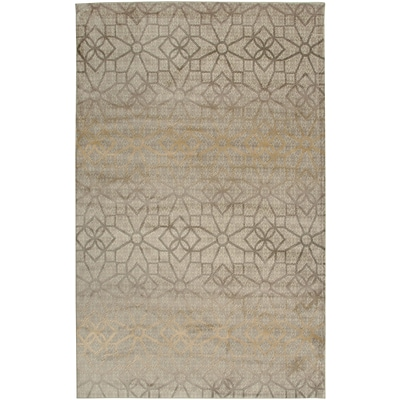 Rizzy Home Bay Side Collection 100% Heat-Set Polypropylene 67x96 Khaki (BYSBS358900376796)