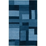 Rizzy Home Colours Collection New Zealand Wool Blend 5x8 Blue (COLCL281900090508)