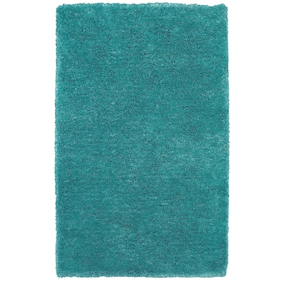 Rizzy Home Commons Collection 100% Polyester 36x 56 Blue/Aqua (CMOCO836900803656)
