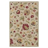 Rizzy Home Dimensions Collection New Zealand Wool Blend 3 x 5 Khaki (DIMDI115900370305)