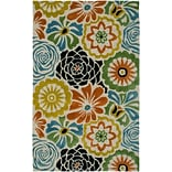 Rizzy Home Dimensions Collection New Zealand Wool Blend 9x12 Multi-Colored (DIMDI267100040912)
