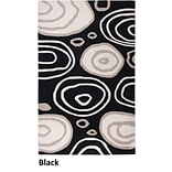 Rizzy Home Fusion Collection New Zealand Wool Blend 2 x 3 Black (FUSFN007100060203)