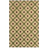 Rizzy Home Opus Collection 100% Wool 3 x 5 Green (OPUOP809700300305)
