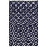 Rizzy Home Opus Collection 100% Wool 3 x 5 Blue (OPUOP812009370305)