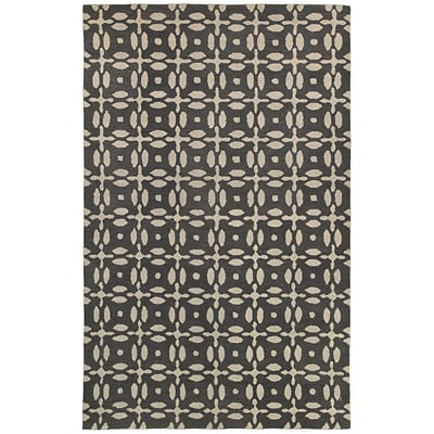 Rizzy Home Opus Collection 100% Wool 3 x 5 Gray (OPUOP823100330305)