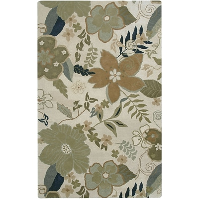 Rizzy Home Pandora Collection Twisted New Zealand Wool Blend 8x10 Khaki (PANPR174000200810)