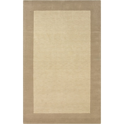 Rizzy Home Platoon Collection New Zealand Wool Blend 5x8 Khaki (PLAPL101400420508)