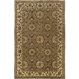 Rizzy Home Shine Collection 100% Semi-Worsted New Zealand Wool 8x10 Dark Khaki (SHISN033412040810)
