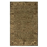 Rizzy Home Shine Collection 100% Semi-Worsted New Zealand Wool 8x10 Khaki (SHISN034830040810)