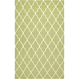Rizzy Home Swing Collection New Zealand Wool Blend 8x10 Green (SWISG210000470810)