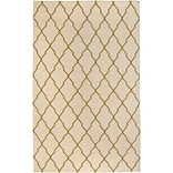 Rizzy Home Swing Collection New Zealand Wool Blend 8x10 Light Tan (SWISG296104280810)