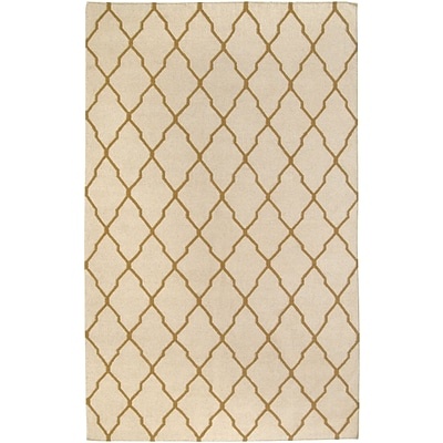 Rizzy Home Swing Collection New Zealand Wool Blend 2 x 3 Light Tan (SWISG296104280203)