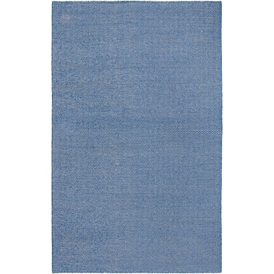 Rizzy Home Twist Collection New Zealand Wool Blend 9x12 Blue (TSTTW292200330912)