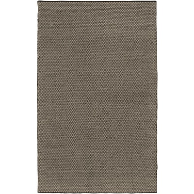Rizzy Home Twist Collection New Zealand Wool Blend 8x10 Gray (TSTTW309712880810)