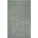 Rizzy Home Uptown Collection New Zealand Wool Blend 8x10 Gray (UPTUP241000330810)