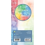 TF Publishing 8 x 4 Tie-Dye 70 page Magnetic List Pad   (10-6052)