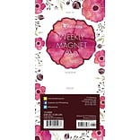 TF Publishing 8 x 4 Poppies 70 page Magnetic List Pad   (10-6099)