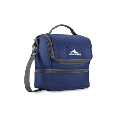 High Sierra Double-Decker Lunch Bag, True Navy (74713-4515)