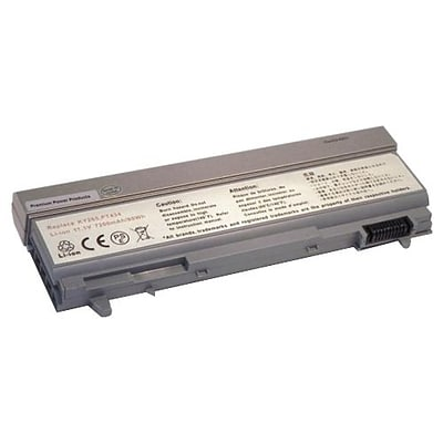 eReplacements Lithium-Ion Rechargeable Battery for Dell Latitude E6410/E6510/M4500 Notebook, 7200 mAh (312-7415-ER)