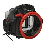 Olympus® Polycarbonate Underwater Housing for OM-D E-M1 Micro Four Thirds Camera (V6300600U000)