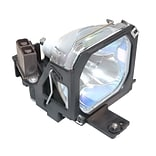 eReplacements 120 W Replacement Projector Lamp for Boxlight MP-355m; Black (ELPLP07-ER)