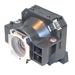 eReplacements 200 W Replacement Projector Lamp for Epson EMP-73; Black (V13H010L32-ER)