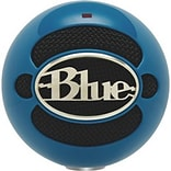 Blue Microphones 3015 Snowball USB Desktop Microphone; Blue