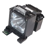 eReplacements 300 W Replacement Projector Lamp for NEC MT1075; Black (MT70LP-ER)