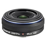 Olympus® Zuiko 261059 f/2.8 - 22 Fixed Focus Lens for E-System Cameras; Black