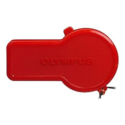 Olympus® PRLC-E08W Replacement Lens Cap for PT-041 Underwater Housing; Red