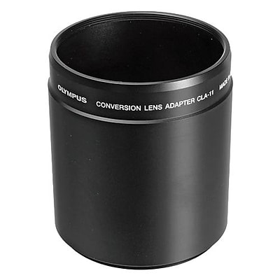 Olympus® CLA-11 Lens Adapter Tube for SP-590UZ Digital Camera; Black